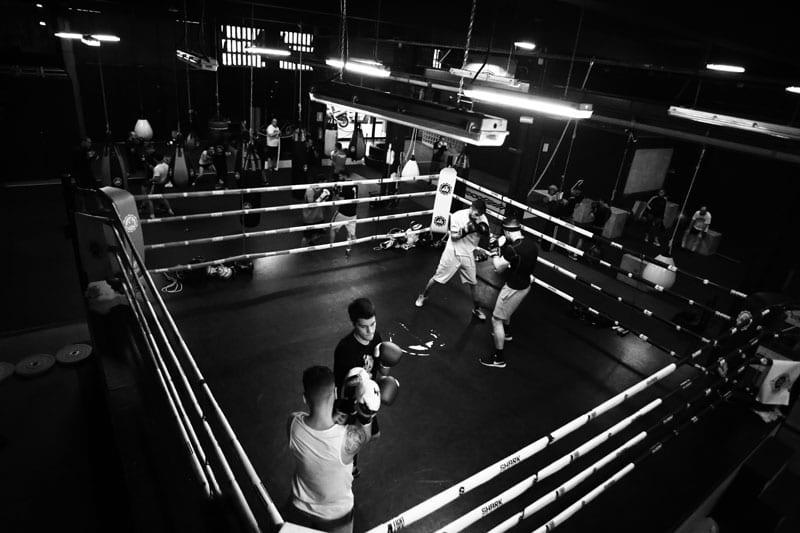 Entrenamiento boxeo en barcelona